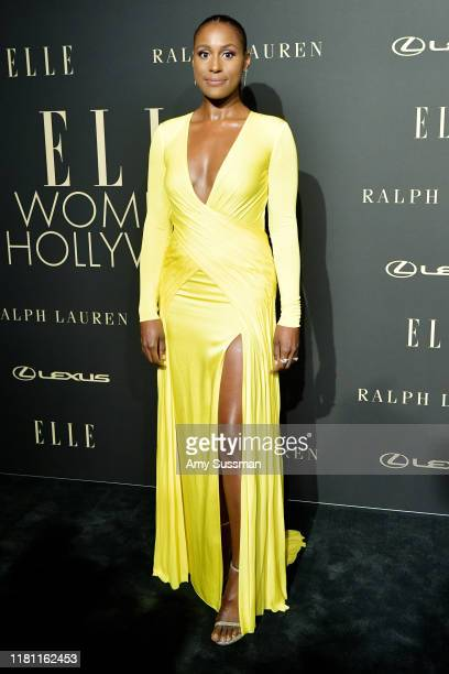 Issa Rae arrives at the 2019 ELLE Women In Hollywood at the Beverly Wilshire Four Seasons Hotel on October 14, 2019 in Beverly Hills, California.