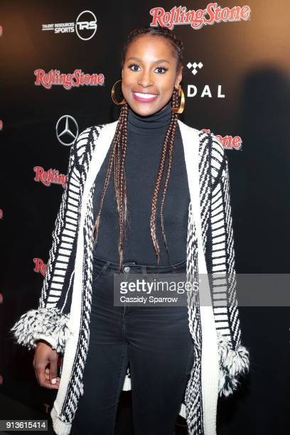 Issa Rae at Rolling Stone Live Minneapolis presented by MercedesBenz and TIDAL Produced in partnership with Talent Resources Sports on February 2...