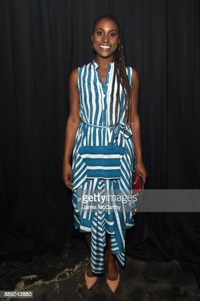 Issa Rae attends BACARDI Swizz Beatz and The Dean Collection bring NO COMMISSION back to Miami to celebrate 'Island Might' at Soho Studios on...