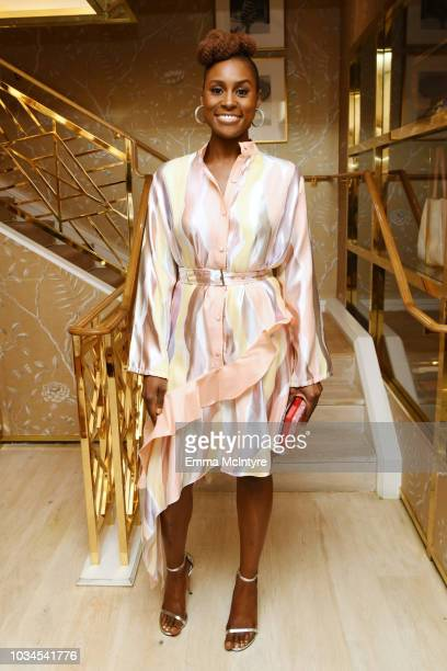 Issa Rae attends Glamour x Tory Burch Women To Watch Lunch on September 16 2018 in Los Angeles California