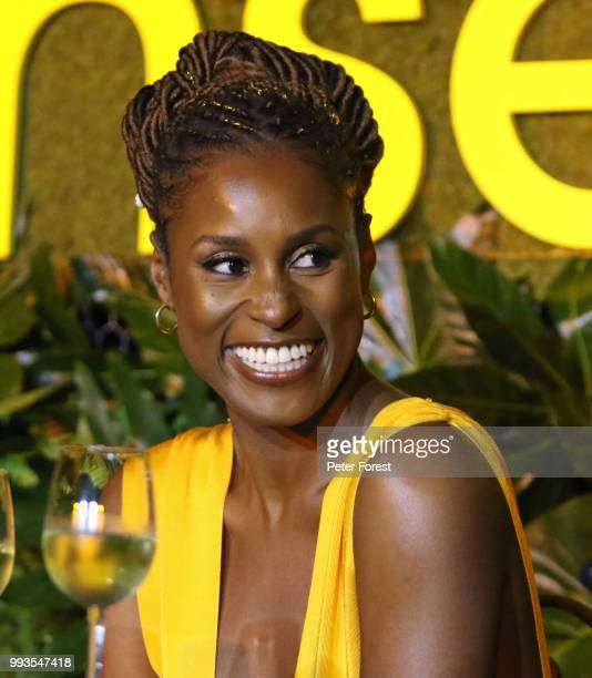 Issa Rae attends HBO's Insecure Live Wine Down at Essence Festival at Barnett Hall at the Ace Hotel on July 7 2018 in New Orleans Louisiana