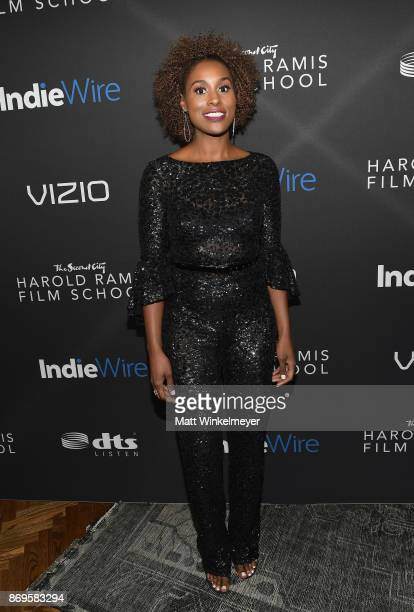 Issa Rae attends Inaugural IndieWire Honors on November 2 2017 in Los Angeles California