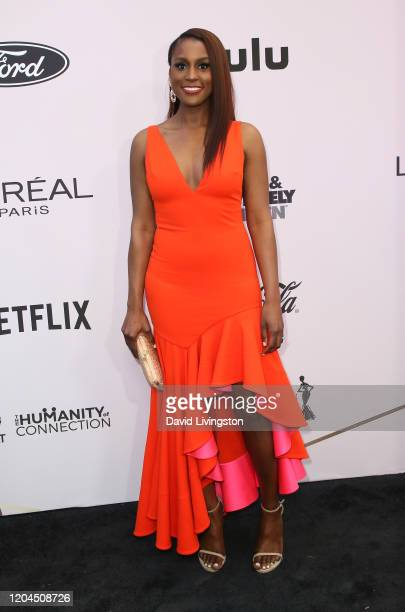 Issa Rae attends the 13th Annual Essence Black Women In Hollywood Awards Luncheon at the Beverly Wilshire Four Seasons Hotel on February 06, 2020 in...