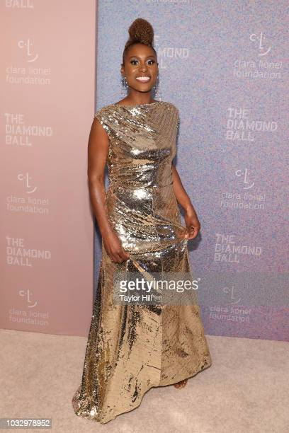 Issa Rae attends the 2018 Diamond Ball at Cipriani Wall Street on September 13 2018 in New York City