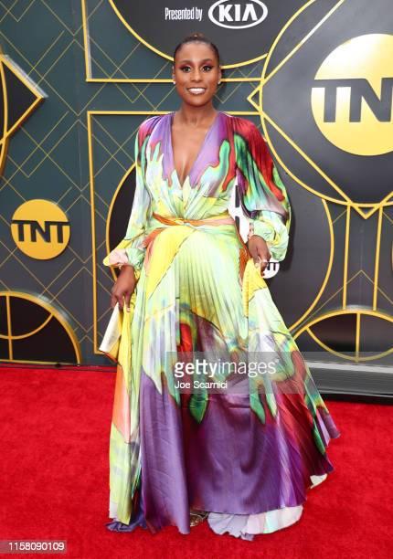 Issa Rae attends the 2019 NBA Awards presented by Kia on TNT at Barker Hangar on June 24 2019 in Santa Monica California