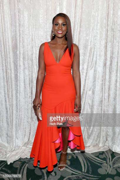 Issa Rae attends the 2020 13th Annual ESSENCE Black Women in Hollywood Luncheon at Beverly Wilshire, A Four Seasons Hotel on February 06, 2020 in...
