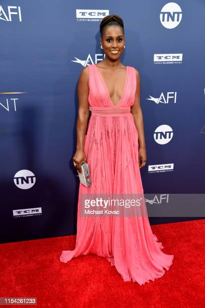 Issa Rae attends the 47th AFI Life Achievement Award honoring Denzel Washington at Dolby Theatre on June 06 2019 in Hollywood California