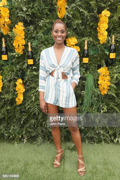 Issa Rae attends the 4th Annual Veuve Clicquot Carnaval at Museum Park on March 10 2018 in Miami Florida