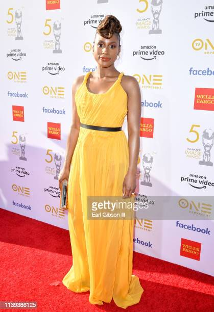 Issa Rae attends the 50th NAACP Image Awards at Dolby Theatre on March 30 2019 in Hollywood California