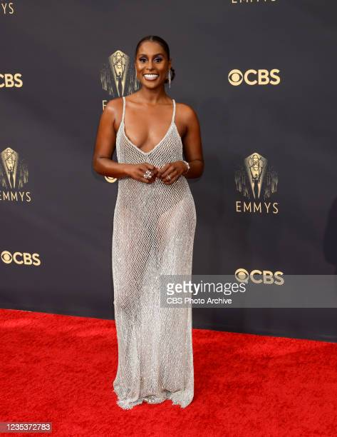 Issa Rae attends the 73RD EMMY AWARDS on Sunday, Sept. 19 on the CBS Television Network and available to stream live and on demand on Paramount+.