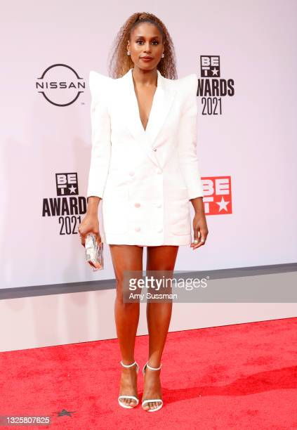 Issa Rae attends the BET Awards 2021 at Microsoft Theater on June 27, 2021 in Los Angeles, California.