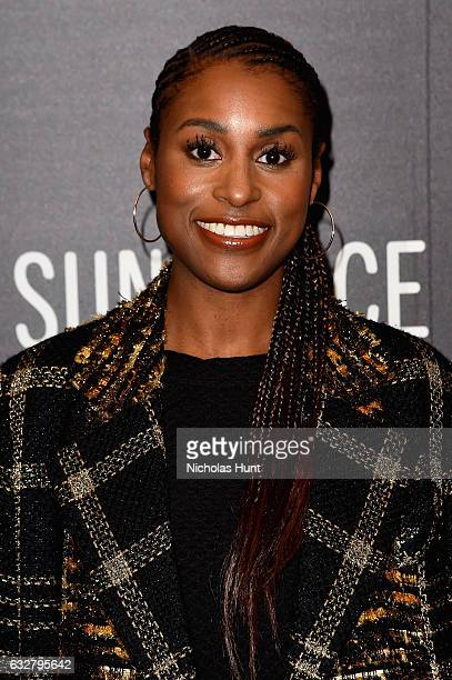 Issa Rae attends the Power Of Story Art Of Episodic Storytelling at Egyptian Theatre on January 26 2017 in Park City Utah