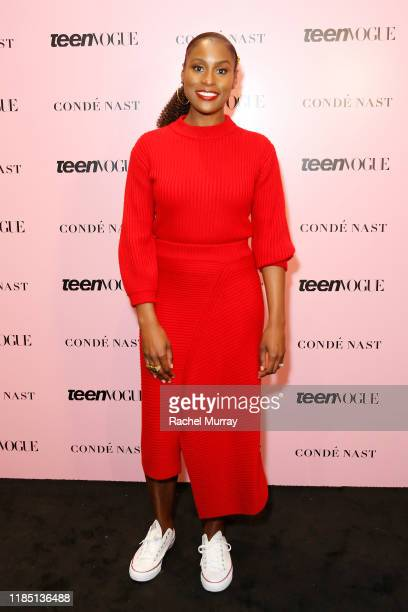 Issa Rae attends the Teen Vogue Summit 2019 at Goya Studios on November 02, 2019 in Los Angeles, California.