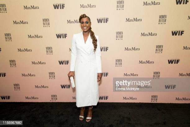 Issa Rae attends the Women in Film Annual Gala 2019 presented by Max Mara at The Beverly Hilton Hotel on June 12, 2019 in Beverly Hills, California.