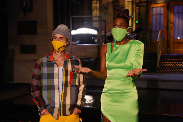 "NY: NBC'S ""Saturday Night Live"" - Issa Rae, Justin Bieber"
