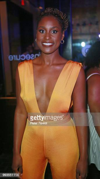 Issa Rae poses for a photo during HBO's Insecure Live Wine Down at Essence at the Ace Hotel on July 7 2018 in New Orleans Louisiana