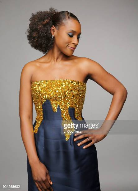 Issa Rae poses for a portrait during the 2018 American Black Film Festival Honors Awards at The Beverly Hilton Hotel on February 25 2018 in Beverly...