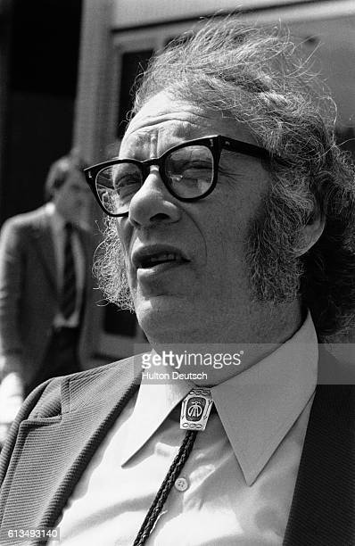 Issac Asimov the Russianborn American novelist He has had a distinguished career as an academic biologist and a science fiction writer