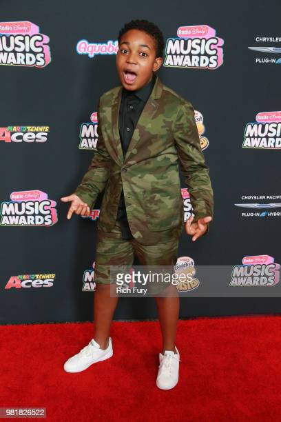 Issac Ryan Brown attends the 2018 Radio Disney Music Awards at Loews Hollywood Hotel on June 22 2018 in Hollywood California