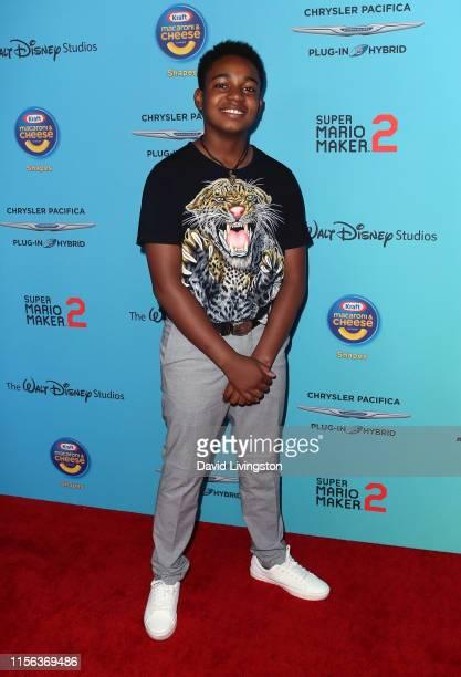 Issac Ryan Brown attends the 2019 Radio Disney Music Awards at CBS Studios Radford on June 16 2019 in Studio City California