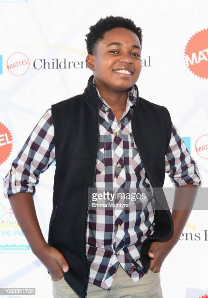 Issac Ryan Brown attends the UCLA Mattel Children's Hospital's 19th Annual Party on the Pier at Santa Monica Pier on November 18 2018 in Santa Monica...