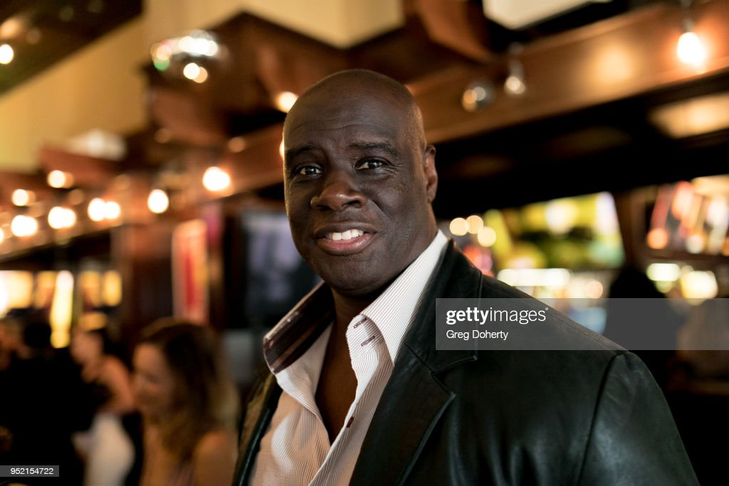 Issac Singleton attends The Bay's Pre-Emmy Red Carpet Celebration at 33 Taps Hollywood on April 26, 2018 in Los Angeles, California.
