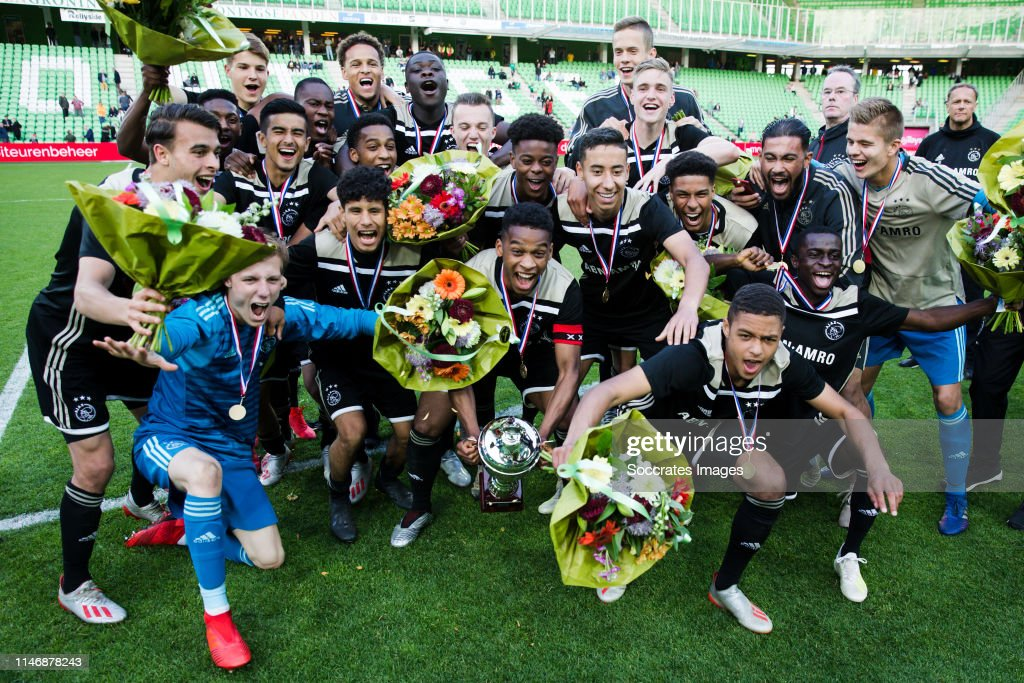 FC Groningen U19 v Ajax U19 : News Photo