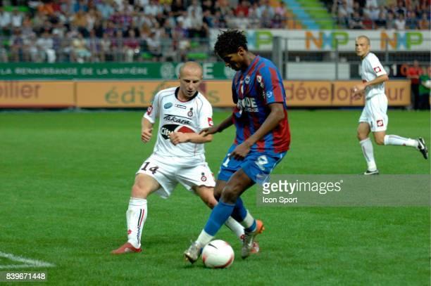 Issam JEMAA Caen / Ogc Nice 1ere journee de Ligue 1