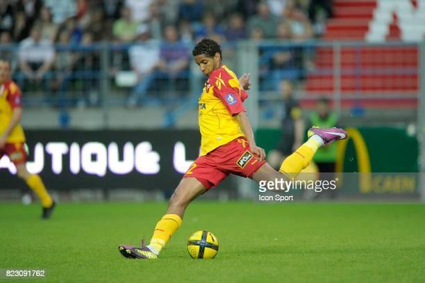Issam JEMAA Caen / Lens 34e journee Ligue 1