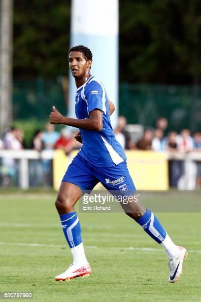 Issam JEMAA Auxerre / Reims Match de preparation