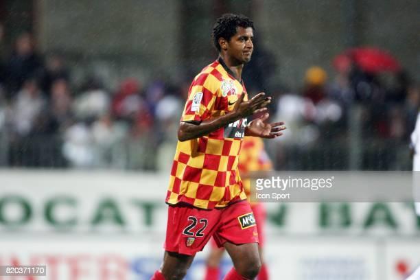 Issam JEMAA Vannes / Lens 2eme journee de Ligue 2