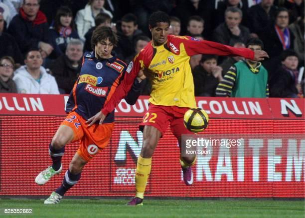Issam JEMAA Montpellier / Lens 28eme journee de Ligue 1