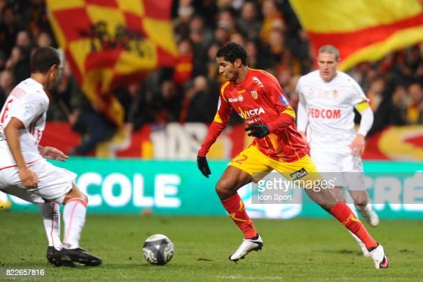 Issam JEMAA Lens / Monaco 25 eme journee de Ligue 1 Stade Bollaert Lens