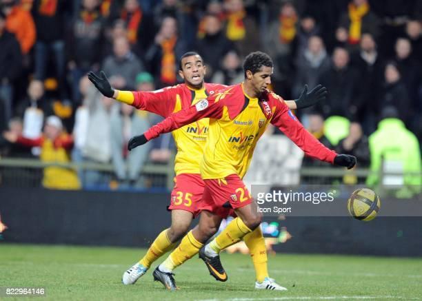 Issam JEMAA Lens / Caen match en retard de la 18eme journee de Ligue 1