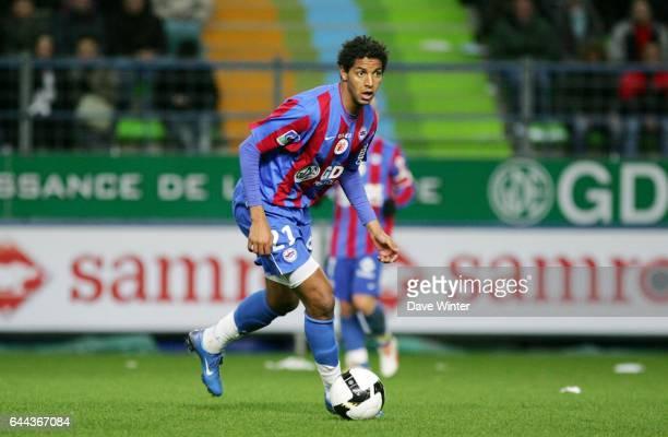 Issam JEMAA Caen / Monaco 30eme journee de Ligue 1 Photo Dave Winter / Icon Sport