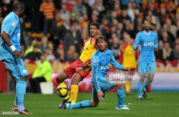 Issam JEMAA / Gabriel HEINZE Lens / Marseille 29e journee Ligue 1 Photo Dave Winter / Icon Sport