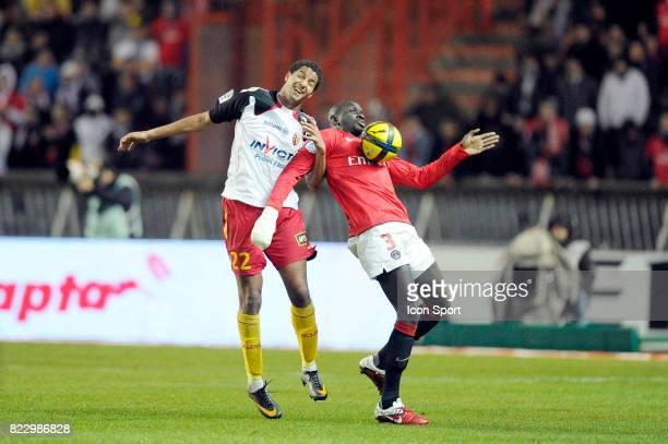 Issam JEMAA / Mamadou SAKHO PSG / Lens 23eme journee de Ligue 1