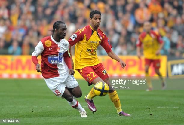 Issam JEMAA / Moise BROU Lens / Brest 31e journee Ligue 1 Photo Dave Winter / Icon Sport