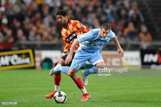 Issam JEMAA / Pierre DUCROCQ Lens / Strasbourg 31e journee Ligue 2