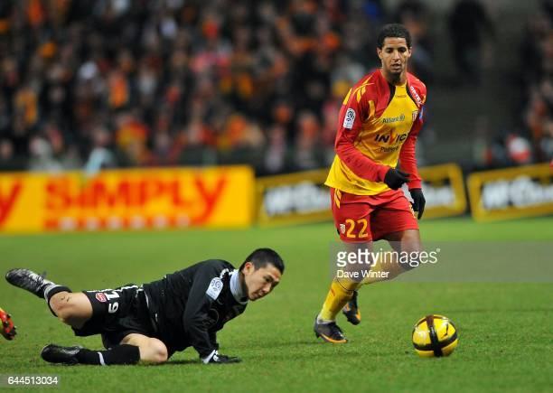 Issam JEMAA / Tae Hee NAM Lens / Valenciennes 22e journee de Ligue 1 Photo Dave Winter / Icon Sport
