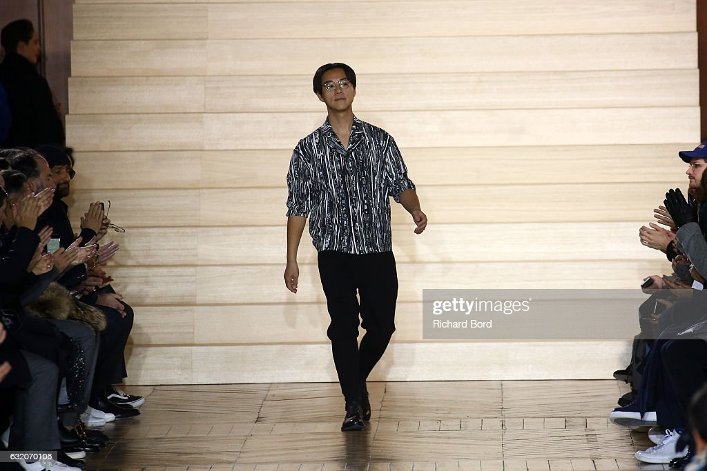 Issey Miyake Men : Runway - Paris Fashion Week - Menswear F/W 2017-2018 : News Photo