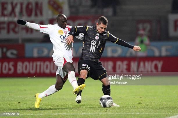 Issiar DIA / Ludovic OBRANIAK Nancy / Lille 19e journee Ligue 1 Stade Marcel Picot Nancy