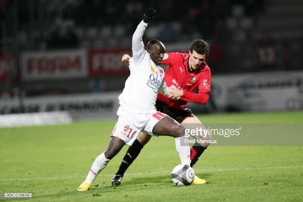 Issiar DIA / Romain DANZE Nancy / Rennes 17e journee Ligue 1 Stade Marcel Picot Nancy