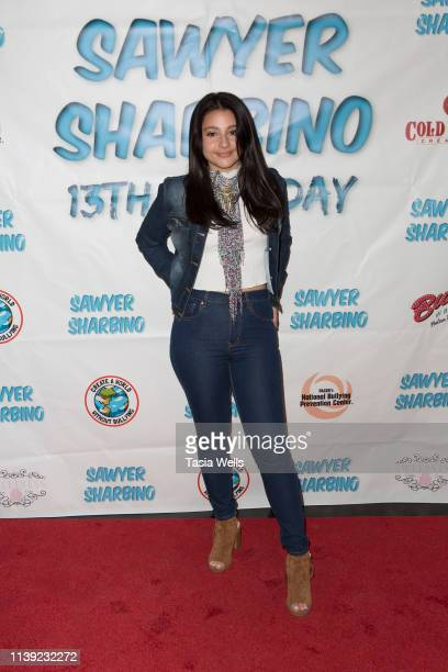 Issie Swickle attends Sawyer Sharbino's 13th Birthday/AntiBullying Charity Event on March 29 2019 in Sherman Oaks California