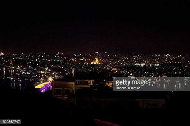 Istambul 2014, paesaggio urbano notturno