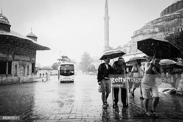 Los turistas Istambul
