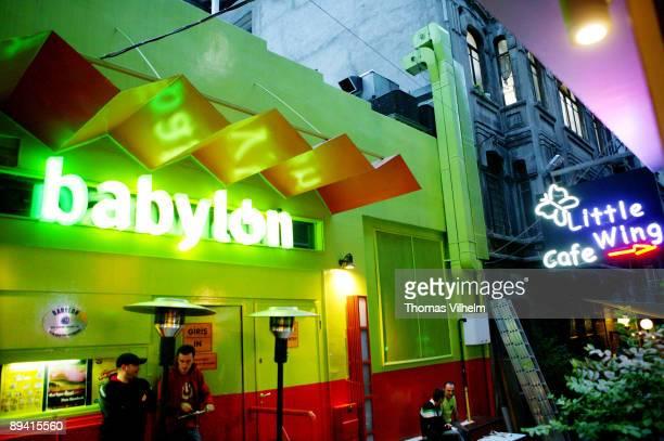 Istambul Turkey Nightclub Babylon in neighbourghood Taksim