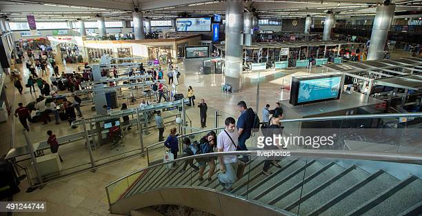 istanbul ataturk airport. - metal detector security stock pictures, royalty-free photos & images