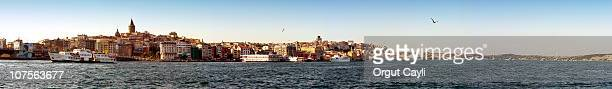 istanbul: golden horn to bosphorus - orgut cayli stock pictures, royalty-free photos & images