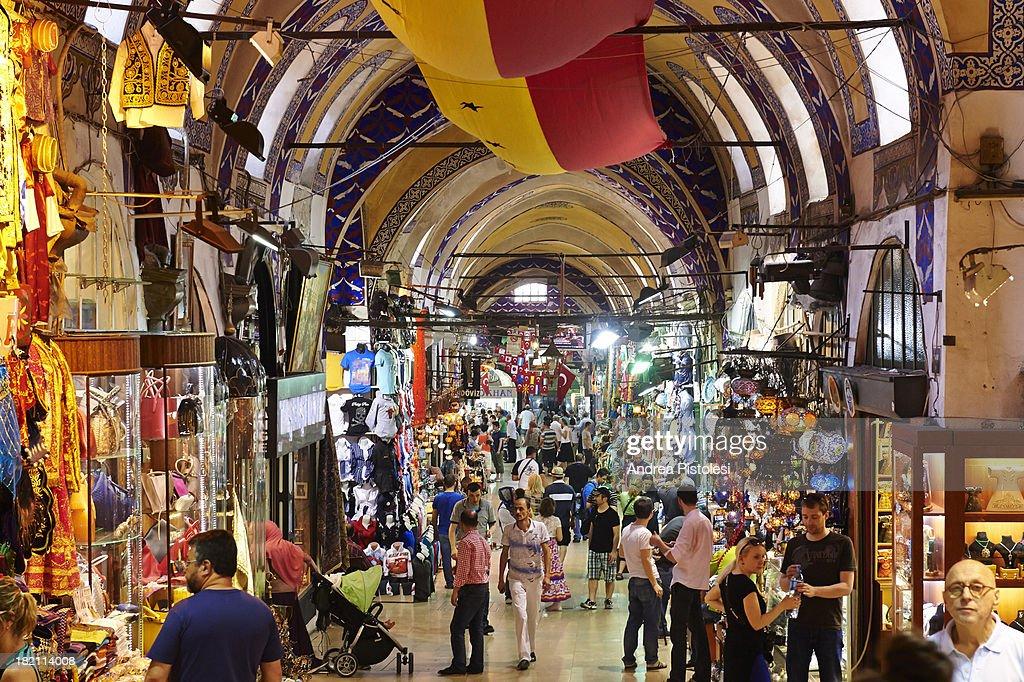 Istanbul, Grand Bazaar : Stock Photo